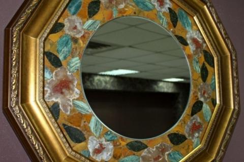 Зеркала из натурального крымского камня