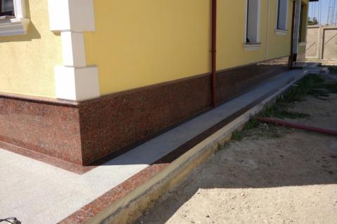 Облицовка фасадов и ступенек