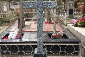 Крест (покостовка) тумба (лабродерид) (крест 100*50 тумба 60*40*20)