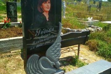 Памятники с ангелом, лебедем, книгой, сердцем